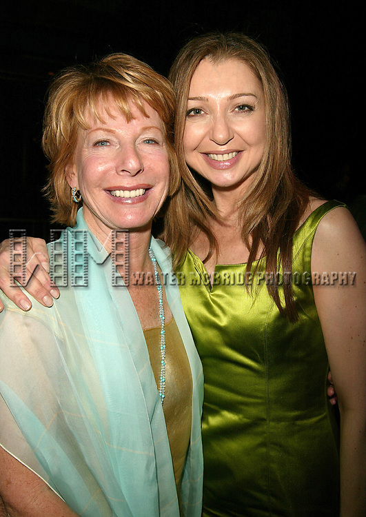 Gail Sheehy and Donna Murphy Attending the Annual Women of Achievement AwardsGala...  WONDERFUL WOMEN / WONDERFUL TOWN...   A Benefit for Women's Project & Productions at the Supper Club in New York City. June 7, 2004