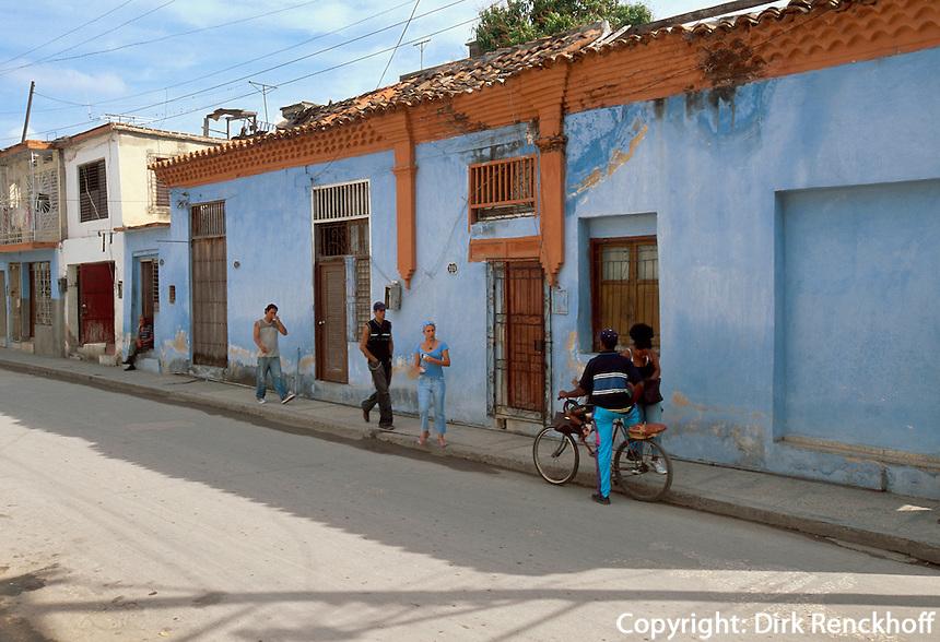 Cuba, Wohnhaus in Holguin