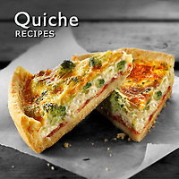 Quiches Photos, Quche Food Pictures, Images, Foto Photography