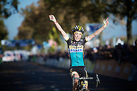 biggest victory to date for Jolien Verschueren (BEL/Young Telenet-Fidea)<br /> <br /> Elite Women's race<br /> Koppenbergcross 2015
