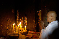 Women Priest in Temple