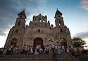 25/02/16 <br /> <br /> Mass is performed outside Iglesia de Guadalupe, Granada, Nicaragua.<br /> <br /> All Rights Reserved: F Stop Press Ltd. +44(0)1335 418365   +44 (0)7765 242650 www.fstoppress.com
