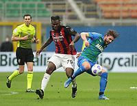 Milano  21-04-2021<br /> Stadio Giuseppe Meazza<br /> Serie A  Tim 2020/21<br /> Milan - Sassuolo<br /> Nella foto:  Kessie                                    <br /> Antonio Saia Kines Milano