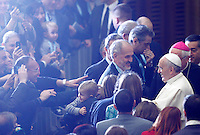 20141122 VATICANO: PAPA FRANCESCO INCONTRA I PARTECIPANTI AL CONVEGNO MISSIONARIO DELLA CEI