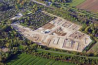 Gleisdreieck Wohnungsbau : EUROPA, DEUTSCHLAND, HAMBURG 04.05.2016: im Bau befindliches Wohngebiet Gleisdreieck Mittlerer Landweg