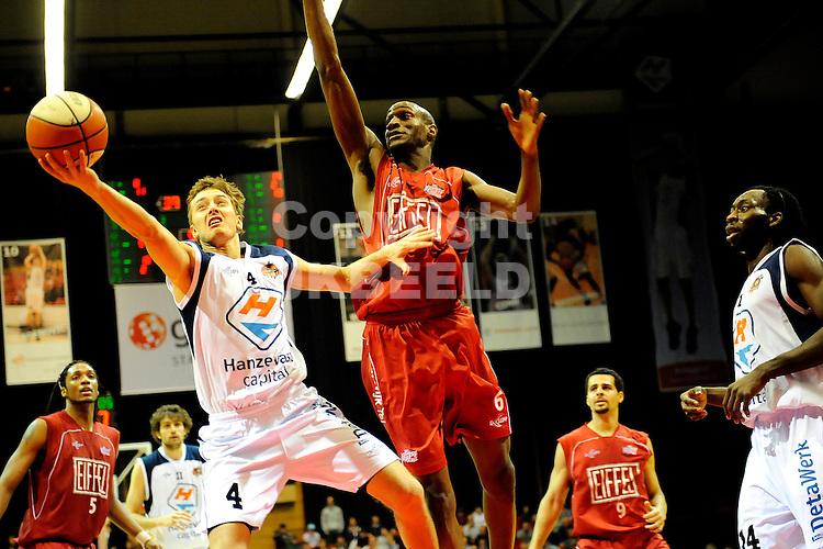 basketbal capitals - eiffeltowers beker seizoen 2008-2009  19-02-2009     rogier jansen.fotograaf jan kanning