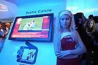- SMAU, international exibition of electronics, computer science and technological innovation, stand TIM digital television..- SMAU, salone internazionale dell'elettronica, informatica e innovazione tecnologica, stand TIM televisione digitale