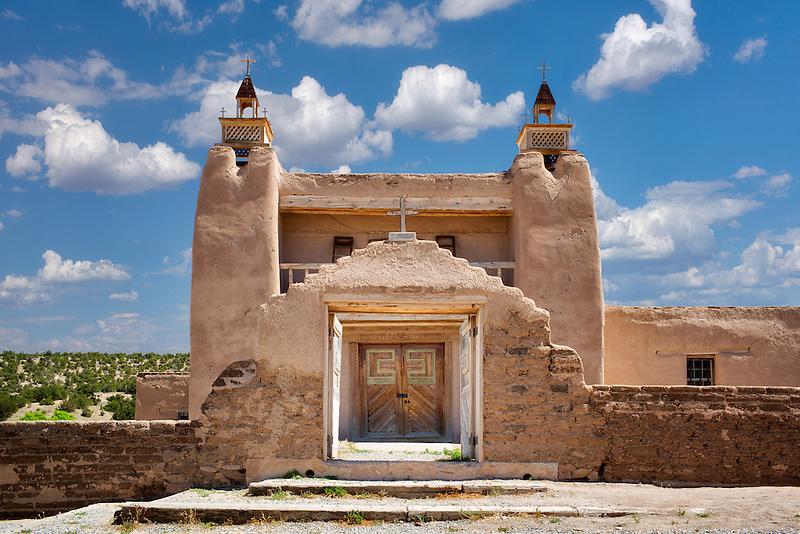 San Jose de Gracia Catholic Church. New Mexico