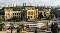 SÃO PAULO, SP, 26.03.2019: MUSEU DO IPIRANGA -SP- Vista aérea feitas de Drone, do Museu do Ipiranga, no Parque da Independência em São Paulo, SP, nesta terça-feira (26). (Foto: Marivaldo Oliveira/Código19)