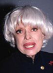 Carol Channing photographed in New York City on April 21, 1994