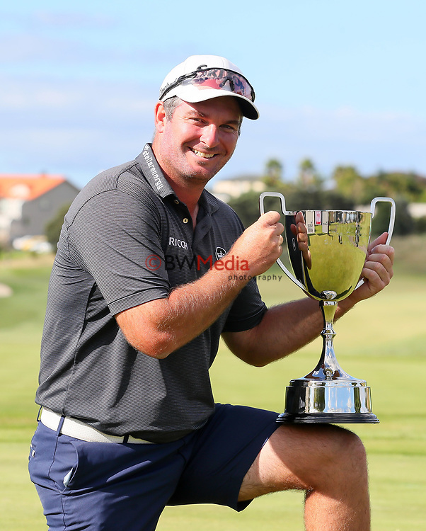 Ryan Fox in action during The Clubhouse Gulf Harbour Golf Open, Gulf Harbour, Auckland, New Zealand, Sunday 4 April 2021 Photo: Simon Watts/www.bwmedia.co.nz