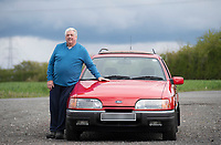 BNPS.co.uk (01202) 558833<br /> Pic: ZacharyCulpin/BNPS<br /> <br /> Thrifty Clive Serrell is still driving his Ford Sierra 32 years after buying it.<br /> <br /> Clive paid £17,000 for the 1988 Sierra 4x4 estate that he has used as his daily runaround ever since.<br /> <br /> Remarkably, after three decades and 126,000 miles on the clock, the only major work the motor has ever required has been for a new clutch 20 years ago.<br /> <br /> Since then it has been used by Clive, 68, on countless family holidays and days out.