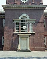 Philadelphia: Independence Hall--entrance.