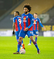 8th January 2021; Molineux Stadium, Wolverhampton, West Midlands, England; English FA Cup Football, Wolverhampton Wanderers versus Crystal Palace; Jairo Riedewald of Crystal Palace with the ball at his feet