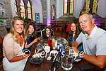 The Randles family from Valentia enjoying the resumption of Indoor Dining at The Oratory Pizza & Wine Bar Cahersiveen as the celebrated Faidh's 8th Birthday, pictured l-rl Aine, Neasa, Faidh, Saidhbh & Tom Randles.