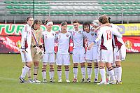 Russia U19 - Belgium U19 : team Russia.foto DAVID CATRY / Nikonpro.be