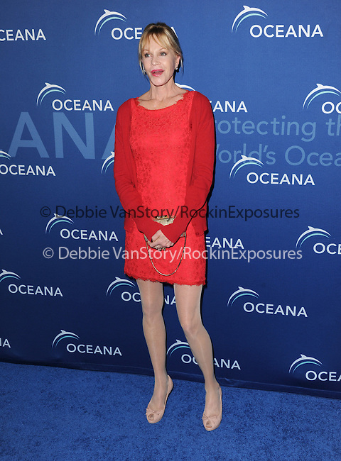 Beverly Hills , California - October 30 :  Melanie Griffith arrives at The Oceana's Partners Awards Gala 2013 held at The Regent Beverly Wilshire in Beverly Hills, California on October 30,2012                                                                               © 2013 Hollywood Press Agency