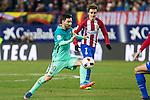 FC Barcelona's forward Leo Messi in action  during the match of Copa del Rey between Atletico de  Madrid and Futbol Club Barcelona at Vicente Calderon Stadium in Madrid, Spain. February 1st 2017. (ALTERPHOTOS/Rodrigo Jimenez)
