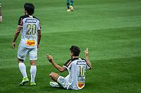 São Paulo (SP), 13/09/2020 - Palmeiras-Sport -  Lucas Mugni, do Sport comemora seu gol, em partida contra o Palmeiras, válida pela 10ª rodada do Campeonato Brasileiro 2020, no Allianz Parque, em São Paulo (SP), neste domingo (13).