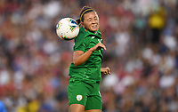 PASADENA, CALIFORNIA - August 03: Katie McCabe #11 during their international friendly and the USWNT Victory Tour match between Ireland and the United States at the Rose Bowl on August 03, 2019 in Pasadena, CA.