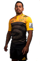 Te Toiroa Tahurangi. Hurricanes Super Rugby official headshots at Rugby League Park, Wellington, New Zealand on Wednesday, 6 January 2016. Photo: Dave Lintott / lintottphoto.co.nz