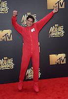 Tyler Posey @ the 2016 MTV Movie Awards held @ the Warner studios.<br /> April 9, 2016