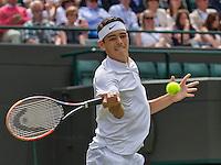 London, England, 28 june, 2016, Tennis, Wimbledon, Taylor Fritz (USA)<br /> Photo: Henk Koster/tennisimages.com