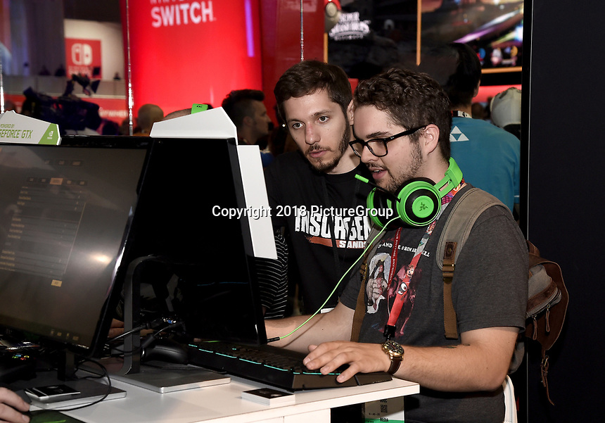 LOS ANGELES - JUNE 12: Atmosphere at the E3 computer and video game event at the Los Angeles Convention Center on June 12, 2018 in Los Angeles, California. (Photo by Scott Kirkland/PictureGroup)