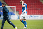 St Johnstone v Partick Thistle…29.10.16..  McDiarmid Park   SPFL<br />A gutted Liam Craig at full time<br />Picture by Graeme Hart.<br />Copyright Perthshire Picture Agency<br />Tel: 01738 623350  Mobile: 07990 594431