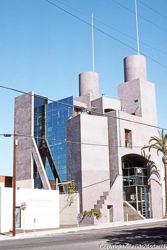 San Diego: Quigley Studio. SW elevation. Rob Quigley, Arch.
