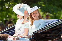 Princess Beatrice<br /> during Trooping the Colour on The Mall, London. <br /> <br /> <br /> ©Ash Knotek  D3283  17/06/2017