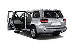 Car images close up view of a 2018 Toyota Sequoia SR5 Auto 5 Door SUV doors