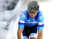 Ethan Mitchell competes in the Elite Men Sprint during the 2020 Vantage Elite and U19 Track Cycling National Championships at the Avantidrome in Cambridge, New Zealand on Friday, 24 January 2020. ( Mandatory Photo Credit: Dianne Manson )