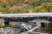 Bath-Haverhill Covered Bridge, Bath, New Hampshire, USA.