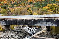 Bath-Haverhill Covered Bridge, Bath, New Hampshire, USA.