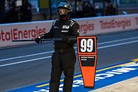 #99 Proton Competition Porsche 911 RSR - 19 LMGTE Am,  Car controller, 24 Hours of Le Mans , Race, Circuit des 24 Heures, Le Mans, Pays da Loire, France
