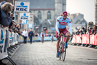 Marco Haller (AUT/Katusha Alpecin) pre race <br /> <br /> 82nd Gent – Wevelgem in Flanders Fields 2019 (1.UWT)<br /> Deinze – Wevelgem: 251,5km<br /> ©kramon