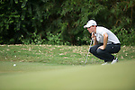 Matthew Fitzpatrick of England ponders his next shot during Hong Kong Open golf tournament at the Fanling golf course on 25 October 2015 in Hong Kong, China. Photo by Aitor Alcade / Power Sport Images