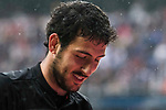 Daniel Parejo Munoz of Valencia CF reacts during their La Liga match between Real Madrid and Valencia CF at the Santiago Bernabeu Stadium on 29 April 2017 in Madrid, Spain. Photo by Diego Gonzalez Souto / Power Sport Images