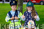 Twins Grace and Adam Roche with their birthday cake as they celebrating their 8th birthday in Ashgrove Tralee on Saturday