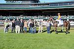 Moonwalk and Corey Lanerie win the JPMorgan Chase Jessamine at Keeneland Racecourse.October 11, 2012.