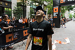 Runners compete during the Bloomberg Square Mile Relay race across Naka-Dori Street in Marunouchi on 26 May 2017 in Tokyo, Japan. Photo by Victor Fraile / Power Sport Images
