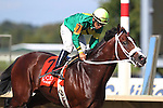 September 19, 2015.  Encryption, Paco Lopez up, wins the $150,000. Bayern Stakes, one an 1/16 miles for three year olds and upwards, at  Parx Racing in Bensalem, PA. Trainer is Kelly Breen; owner is Stoneway Farm. (Joan Fairman Kanes/ESW/CSM)