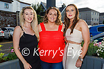 Enjoying the evening in the Ashe Hotel on Saturday, l to r:  Shannon Cleary, Jennifer Kavanagh and Shauna Cantwell.