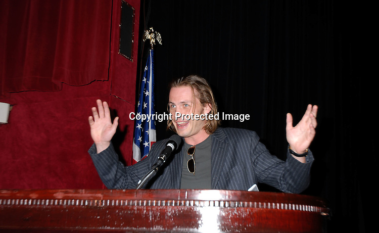 Forbes March ..at The Modeling Association of America International ..Convention Awards Luncheon on April 19, 2006 at The Waldor Astoria Hotel. ..Robin Platzer, Twin Images
