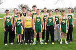 April 24, 2014- Tuscola, IL- The Hornet 8th Grade Boys Track team. Alternating from left are Kevin Miller, Dakota Denny, Ethan Durbin, Parker Taylor, Matthew Reese, Hunter Woodard, Andrew Erickson, Jacob Craddock, Hunter Hutcherson, Dalton Hoel, Noah Pierce, and Matthew Griffith. [Photo: Douglas Cottle]
