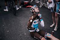 a brutal stage it was<br /> <br /> Stage 6: Frontenex > La Rosière Espace San Bernardo (110km)<br /> 70th Critérium du Dauphiné 2018 (2.UWT)
