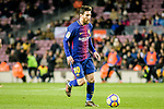 Lionel Messi of FC Barcelona in action during the La Liga 2017-18 match between FC Barcelona and Deportivo La Coruna at Camp Nou Stadium on 17 December 2017 in Barcelona, Spain. Photo by Vicens Gimenez / Power Sport Images