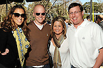 From left: Bea Valencia, Ford Allen, Kelly Guthrie and Drew Thornton at the Beastly Brunch at the Houston Zoo Sunday Feb. 28,2010. (Dave Rossman Photo)