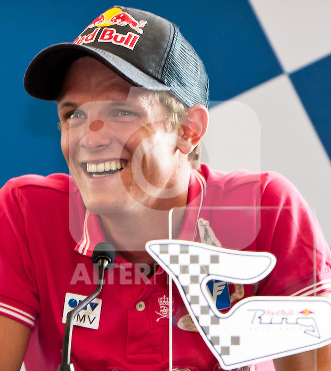 21.08.2011, Red Bull Ring, Spielberg, AUT, IDM Spielberg, im Bild Pressekonferenz mit Thomas Morgenstern // during the IDM weekend on the Red Bull Circuit in Spielberg, 2011/08/21, EXPA Pictures © 2011, PhotoCredit: EXPA/ M.Kuhnke